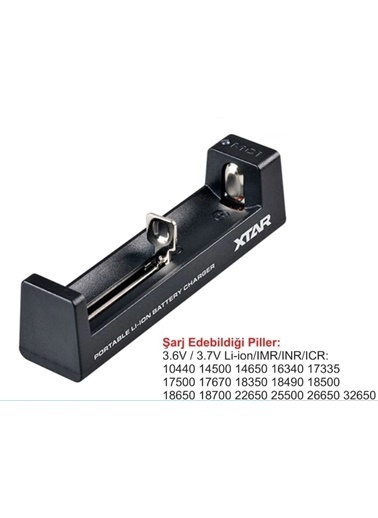 Techmaster Xtar Mc-1 Micro Usb Universal Li-ion Pil Şarj Cihazı Renkli
